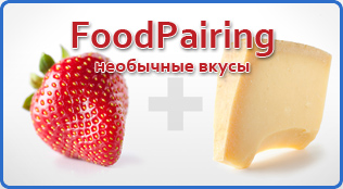 подбор вкусовых пар foodpairing